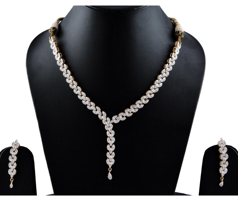Vogue Crafts & Designs Pvt. Ltd. manufactures Multi-color Necklace Earrings set (with Dori) at wholesale price.