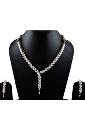 Vogue Crafts and Designs Pvt. Ltd. manufactures Multi-color Necklace Earrings set (with Dori) at wholesale price.