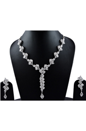 Vogue Crafts and Designs Pvt. Ltd. manufactures Beautiful ME Earrings-Necklace Set at wholesale price.