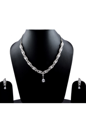 Vogue Crafts and Designs Pvt. Ltd. manufactures The Indian Diva Earrings-Necklace set at wholesale price.