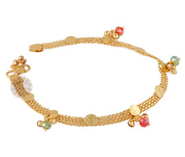 Vogue Crafts and Designs Pvt. Ltd. manufactures Anklet Chained With Modernism at wholesale price.
