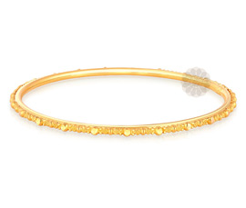 Multipurpose Flawless Golden Bangle