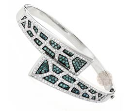 Vogue Crafts and Designs Pvt. Ltd. manufactures Elegant Edged Silver Handcuff at wholesale price.