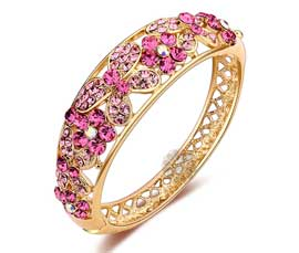 Vogue Crafts and Designs Pvt. Ltd. manufactures The Pink Butterfly Handcuff at wholesale price.