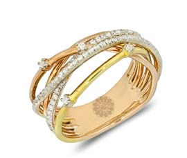 Vogue Crafts and Designs Pvt. Ltd. manufactures Facile Golden Hand Cuff at wholesale price.