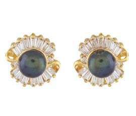 Vogue Crafts and Designs Pvt. Ltd. manufactures Glam wrapped studs Earring at wholesale price.