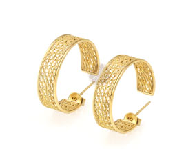 Vogue Crafts and Designs Pvt. Ltd. manufactures Thick Gold Plated Earrings at wholesale price.