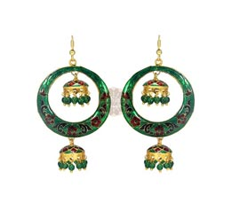 Vogue Crafts and Designs Pvt. Ltd. manufactures Floral Recital Earrings at wholesale price.