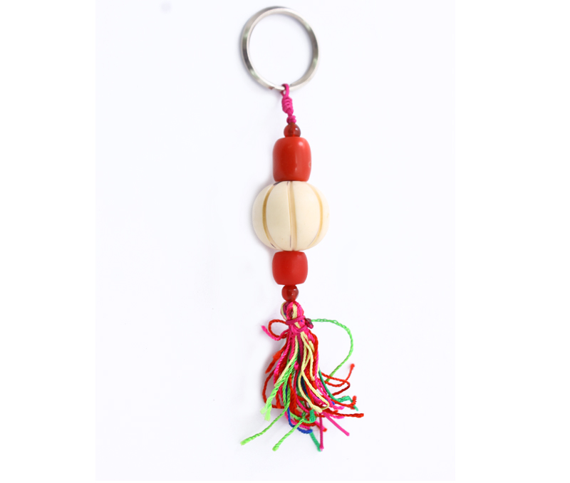 Latest Design Jewelry - Colorful Tassel Keyring .