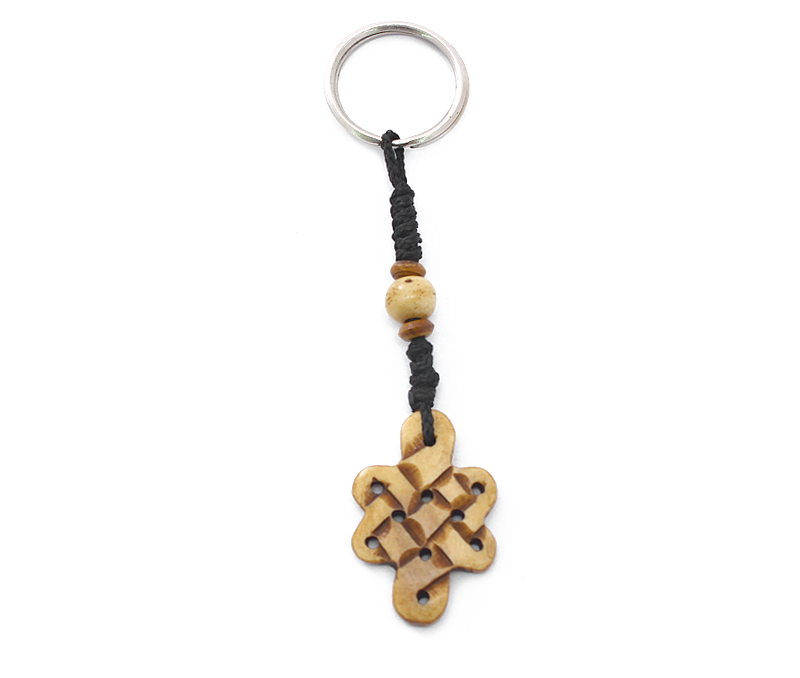 Latest Design Jewelry - Endless Knot Keyring .