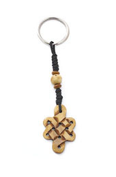 Vogue Crafts and Designs Pvt. Ltd. manufactures Endless Knot Keyring at wholesale price.