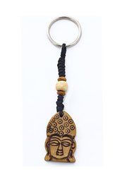 Vogue Crafts and Designs Pvt. Ltd. manufactures Buddha Face Keyring at wholesale price.