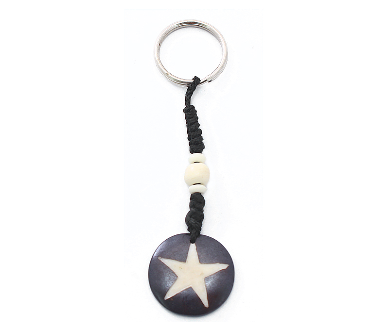 Vogue Crafts & Designs Pvt. Ltd. manufactures Star Keyring at wholesale price.