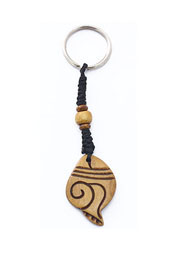 Vogue Crafts and Designs Pvt. Ltd. manufactures Conch Shell Keyring at wholesale price.
