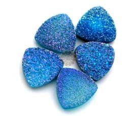 blue druzy