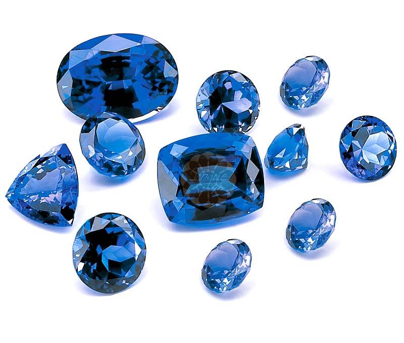 Latest Design Jewelry - blue saphire .