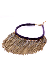 Vogue Crafts and Designs Pvt. Ltd. manufactures Chains and Fringe Necklace at wholesale price.