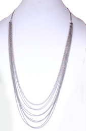 Vogue Crafts and Designs Pvt. Ltd. manufactures Caught in the Chains Necklace at wholesale price.