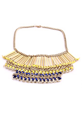 Vogue Crafts and Designs Pvt. Ltd. manufactures Sticks and Brass Necklace at wholesale price.