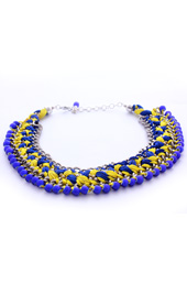Vogue Crafts and Designs Pvt. Ltd. manufactures Braided Chains Necklace at wholesale price.