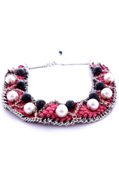 Vogue Crafts and Designs Pvt. Ltd. manufactures Braided Bliss Necklace at wholesale price.