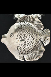 Vogue Crafts and Designs Pvt. Ltd. manufactures Silver Fish Pendant at wholesale price.