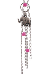 Vogue Crafts and Designs Pvt. Ltd. manufactures Dangling Elephant Pendant at wholesale price.