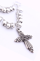 Vogue Crafts and Designs Pvt. Ltd. manufactures The Cross Charm Pendant at wholesale price.