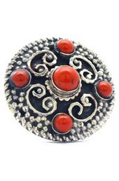 Vogue Crafts and Designs Pvt. Ltd. manufactures Coral Dots Ring at wholesale price.