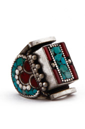 Vogue Crafts and Designs Pvt. Ltd. manufactures Dose of Coral Ring at wholesale price.