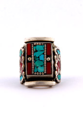 Vogue Crafts and Designs Pvt. Ltd. manufactures Ornate Motif Ring at wholesale price.