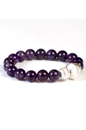 Vogue Crafts and Designs Pvt. Ltd. manufactures Beads and Silver Ball Bracelet at wholesale price.