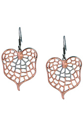 Leaf Cutout Earrings