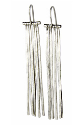 The Silver Fringe Earrings
