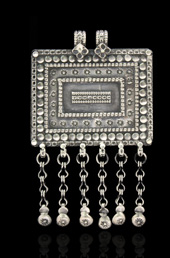 Traditional Silver Pendant