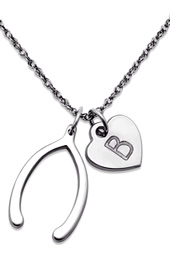 Vogue Crafts and Designs Pvt. Ltd. manufactures Wishbone Silver Pendant at wholesale price.