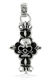 Vogue Crafts and Designs Pvt. Ltd. manufactures Skull Cross Pendant at wholesale price.