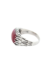 Vogue Crafts and Designs Pvt. Ltd. manufactures Square Stone Silver Ring at wholesale price.