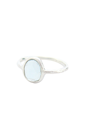 Vogue Crafts and Designs Pvt. Ltd. manufactures Simple Sterling Silver Ring at wholesale price.