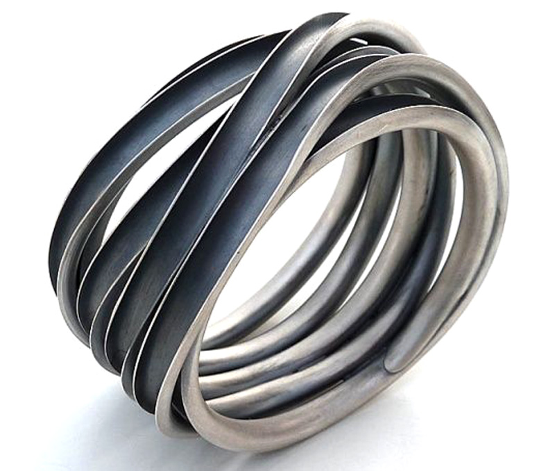 Latest Design Jewelry - Tribal Silver Ring .