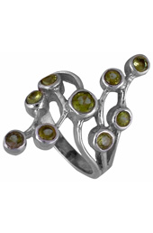 Vogue Crafts and Designs Pvt. Ltd. manufactures Contemporary Sterling Silver Ring at wholesale price.