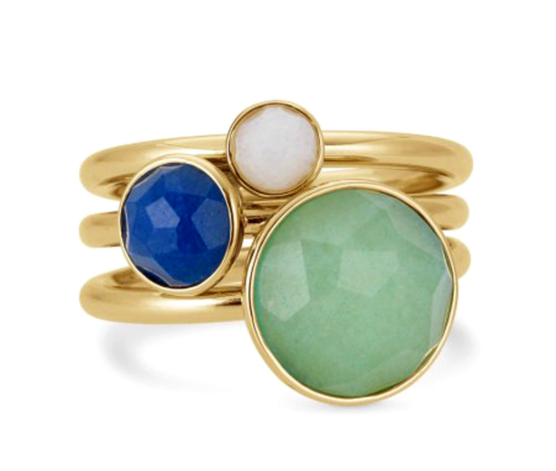 Vogue Crafts & Designs Pvt. Ltd. manufactures Multiple Stone Ring at wholesale price.