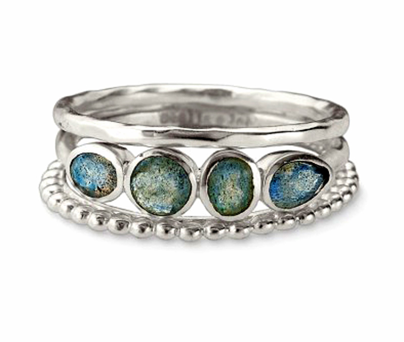 Latest Design Jewelry - Silver Stackable Ring .