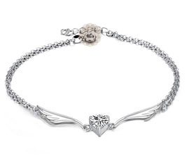 Vogue Crafts and Designs Pvt. Ltd. manufactures Celestial Wings Silver Anklet at wholesale price.