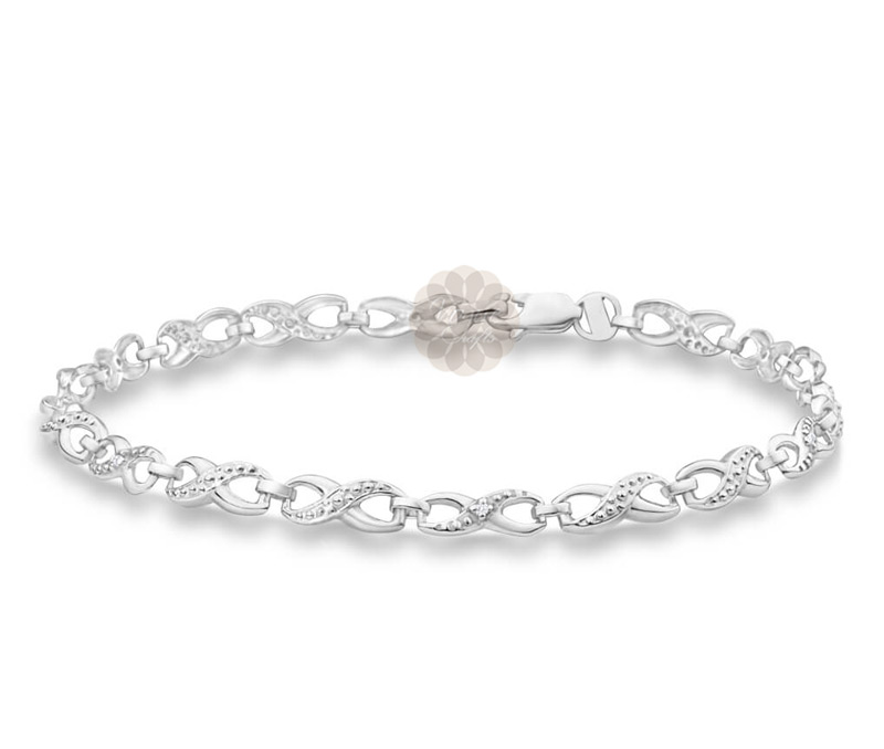 Vogue Crafts & Designs Pvt. Ltd. manufactures Infinity Silver Anklet at wholesale price.