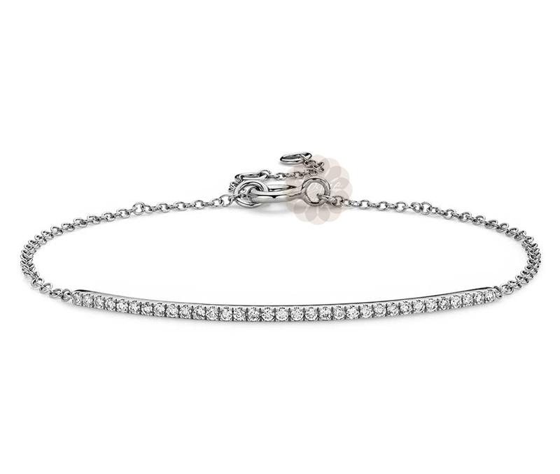 Vogue Crafts & Designs Pvt. Ltd. manufactures Adjustable Sterling Silver Anklet at wholesale price.