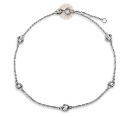 Vogue Crafts and Designs Pvt. Ltd. manufactures Single Strand Silver Anklet at wholesale price.