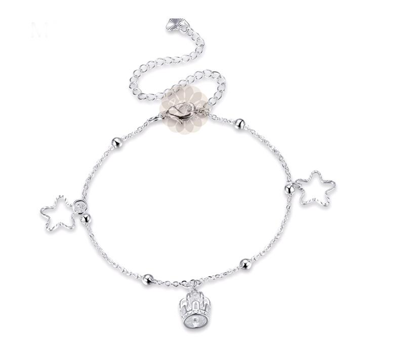 Vogue Crafts & Designs Pvt. Ltd. manufactures Vintage Silver Anklet at wholesale price.