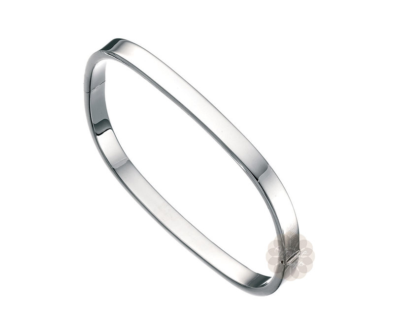 Vogue Crafts & Designs Pvt. Ltd. manufactures Beauty Quick Square Silver Bangle at wholesale price.