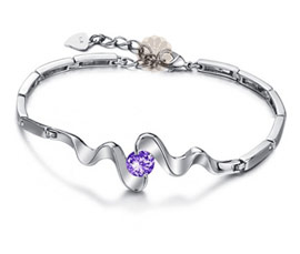 Vogue Crafts and Designs Pvt. Ltd. manufactures Designer Silver Bracelet Bangle at wholesale price.